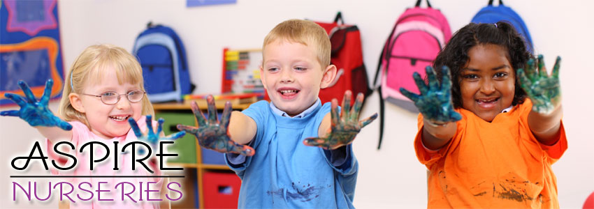 Aspire Nursery School based in Mongeham, Deal, Kent, offers full and part-time places to children aged between two and five